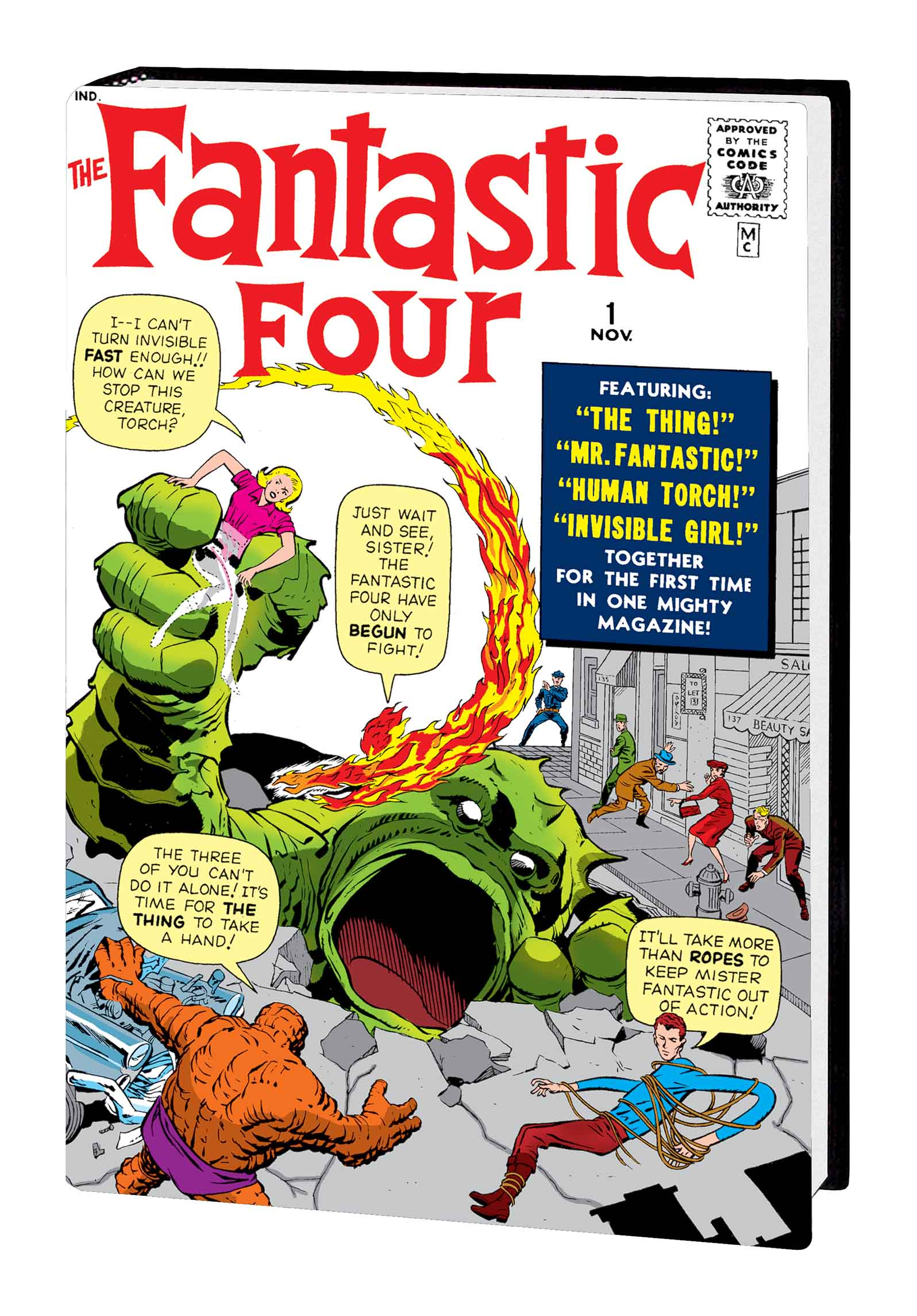 THE FANTASTIC FOUR OMNIBUS VOL. 1 HC (NEW PRINTING) (Hardcover)