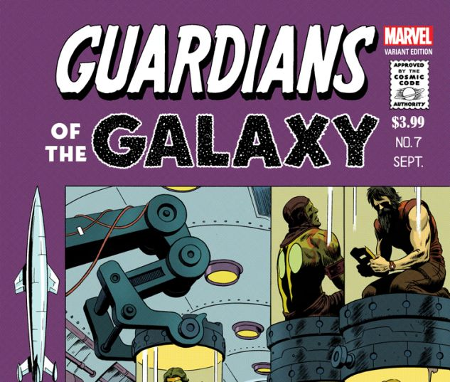 GUARDIANS OF THE GALAXY 7 RIVERA VARIANT (NOW, WITH DIGITAL CODE)