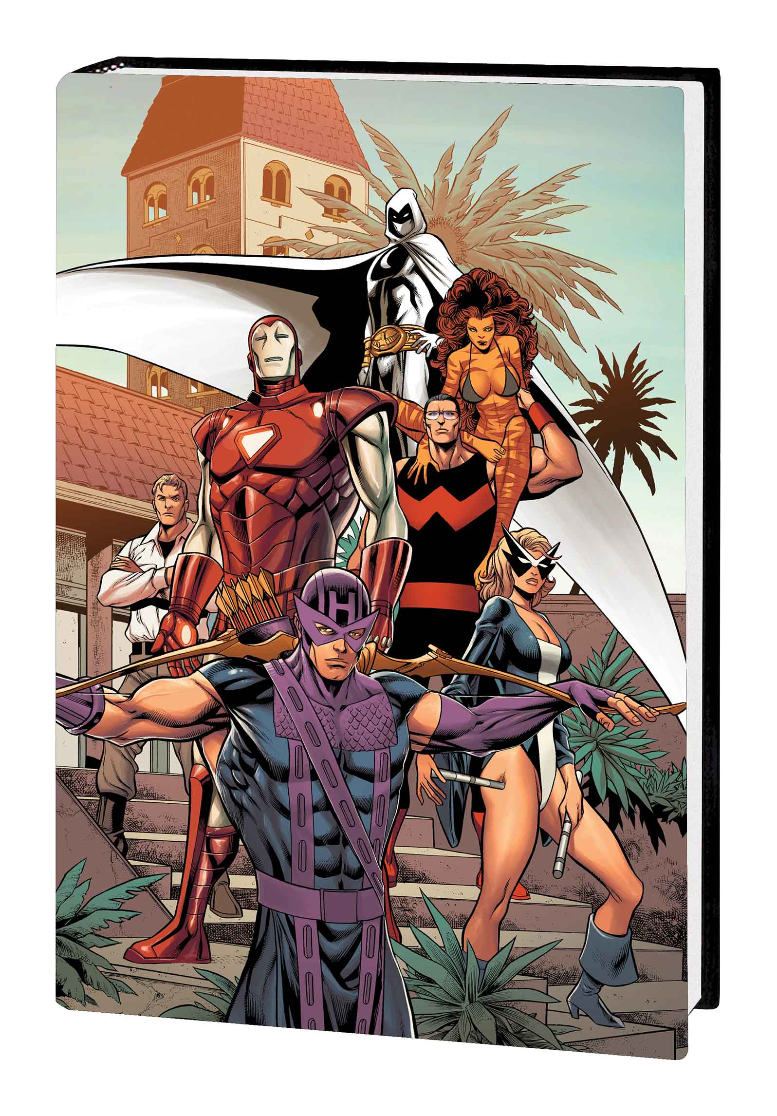 AVENGERS: WEST COAST AVENGERS OMNIBUS VOL. 2 HC PACHECO COVER (Hardcover)
