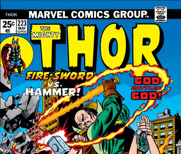 Thor (1966) #223 Cover