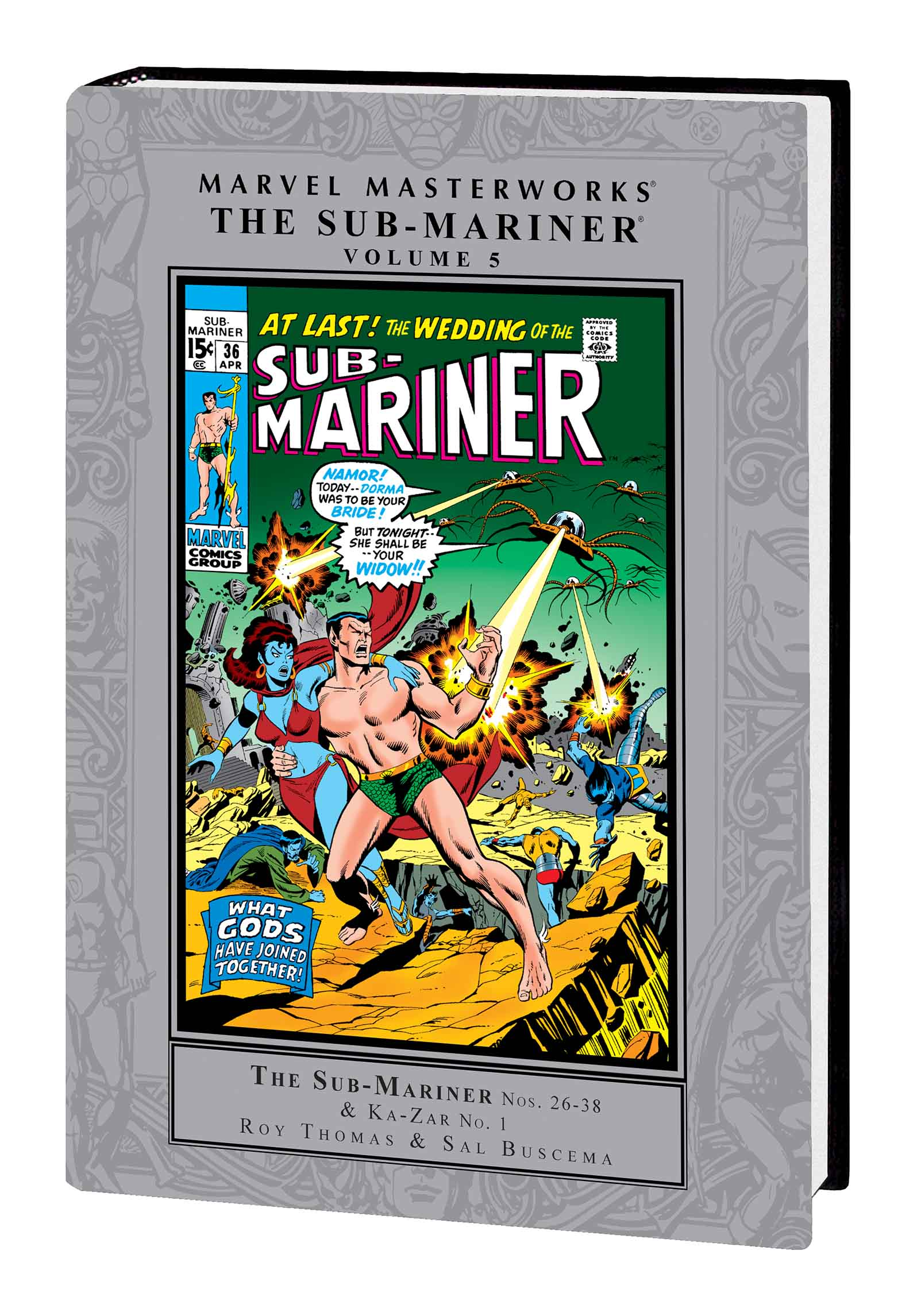 Marvel Masterworks: The Sub-Mariner (Hardcover)