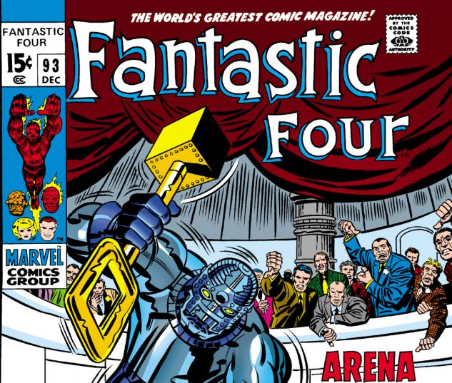 Fantastic Four (1961) #93 Cover