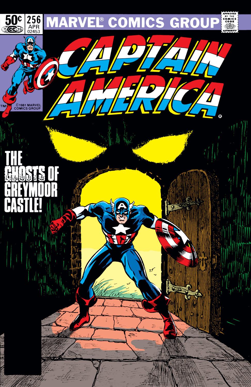 Captain America (1968) #256