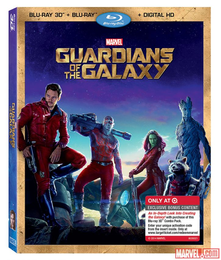 New GUARDIANS OF THE GALAXY DVD Covers Available With The ...