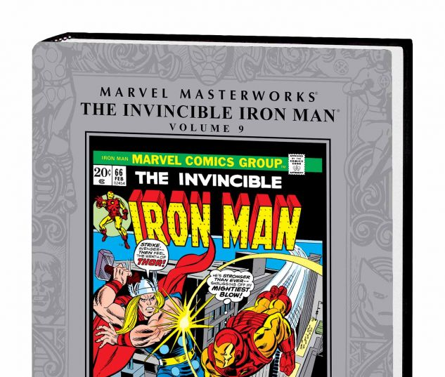 MARVEL MASTERWORKS: THE INVINCIBLE IRON MAN VOL. 9 HC
