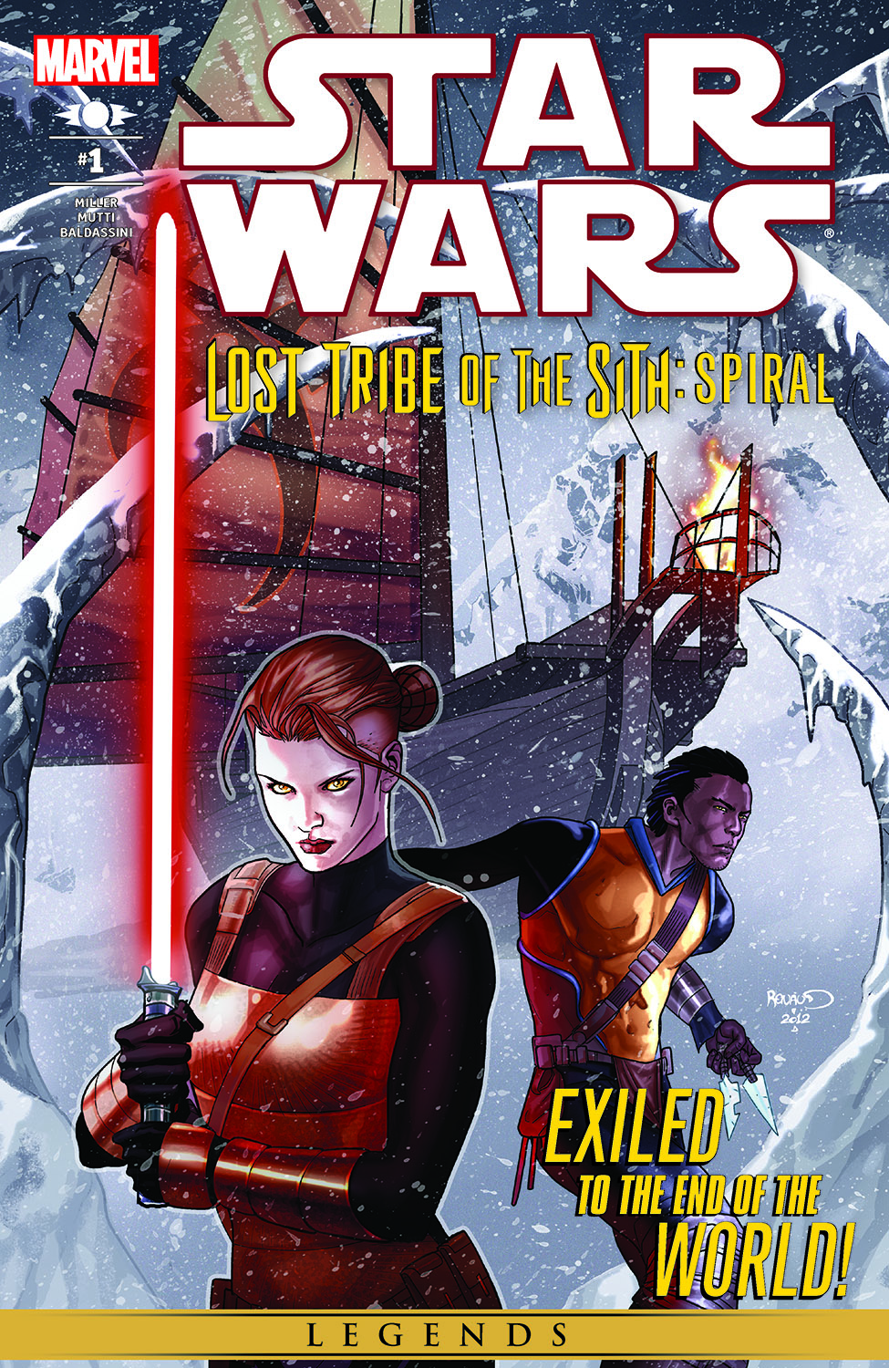Star Wars: Lost Tribe Of The Sith - Spiral (2012) #1
