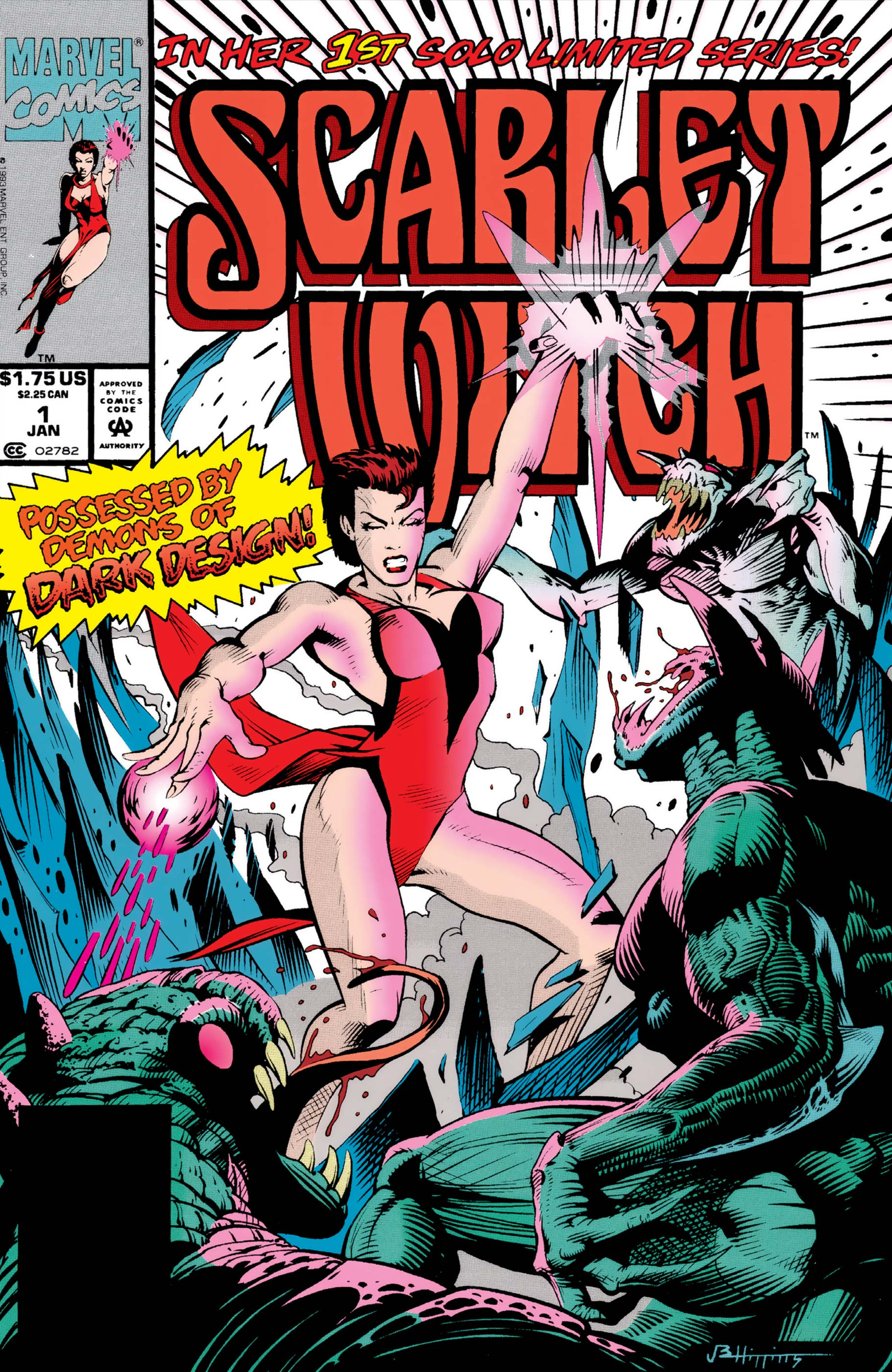 Scarlet Witch (1994) #1