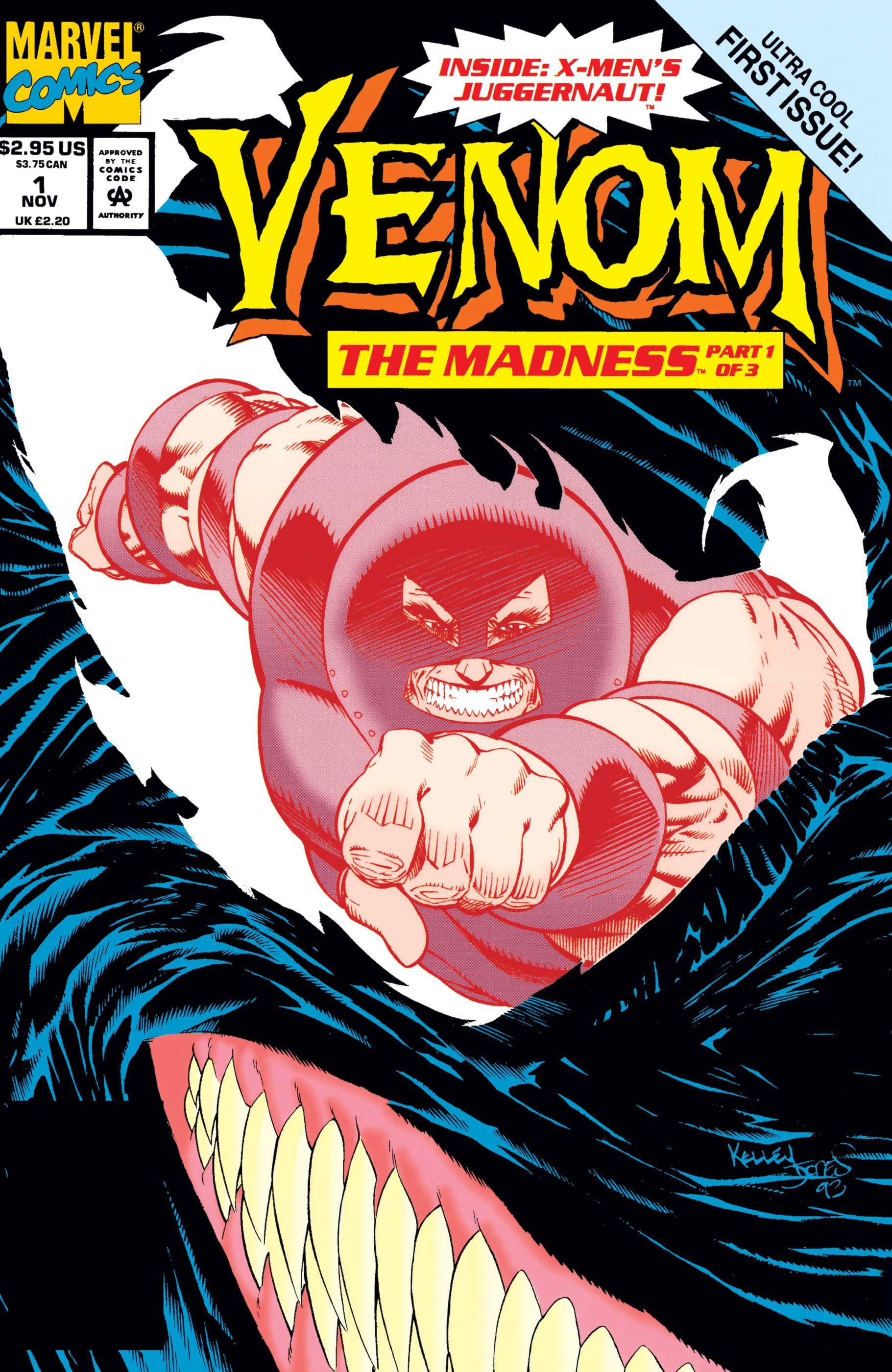 Venom: The Madness (1993) #1