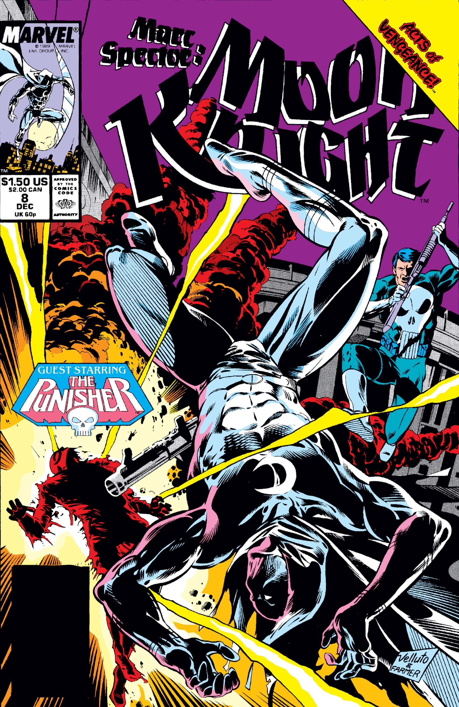 Marc Spector: Moon Knight (1989) #8