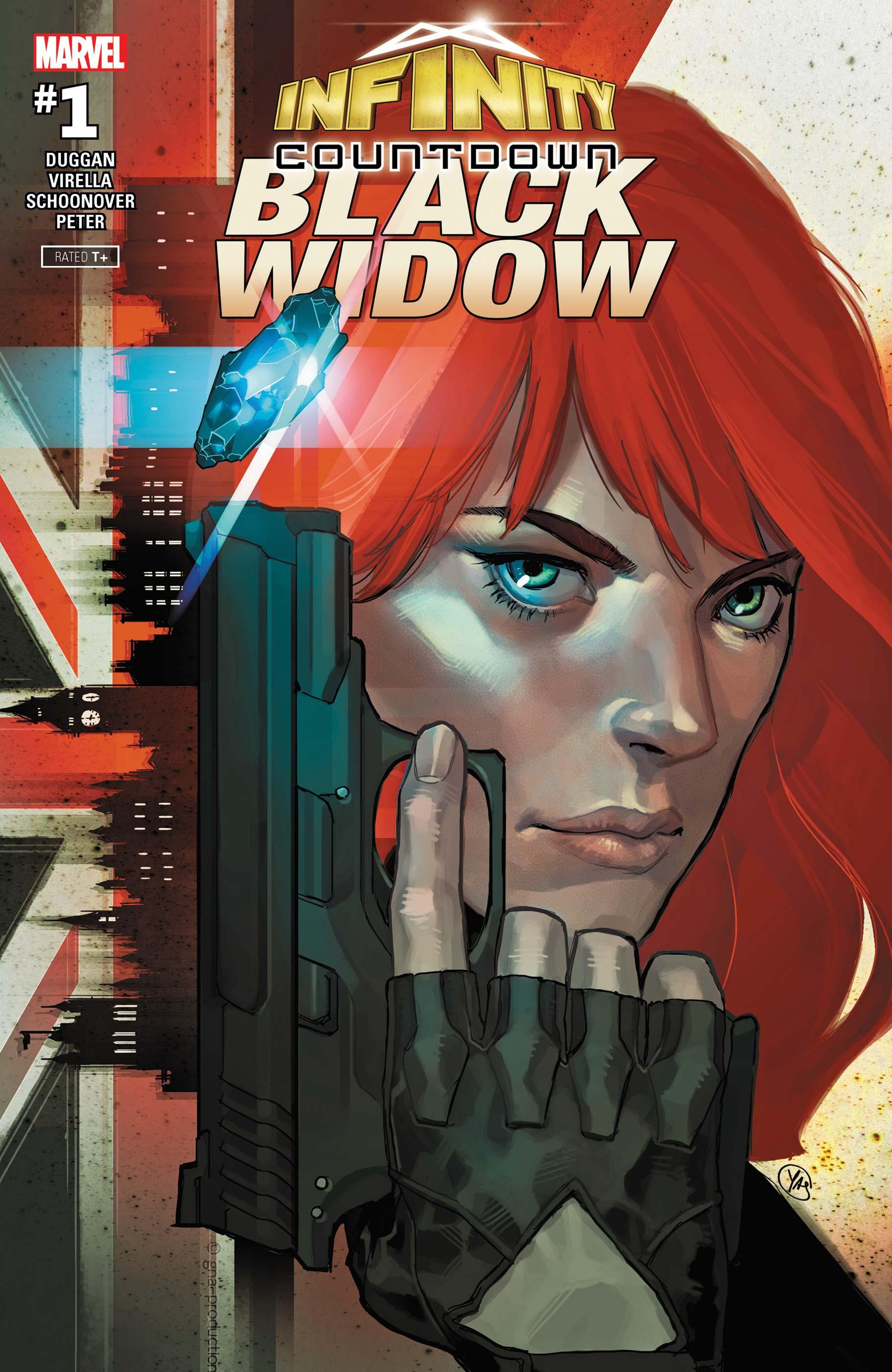 Infinity Countdown: Black Widow (2018) #1