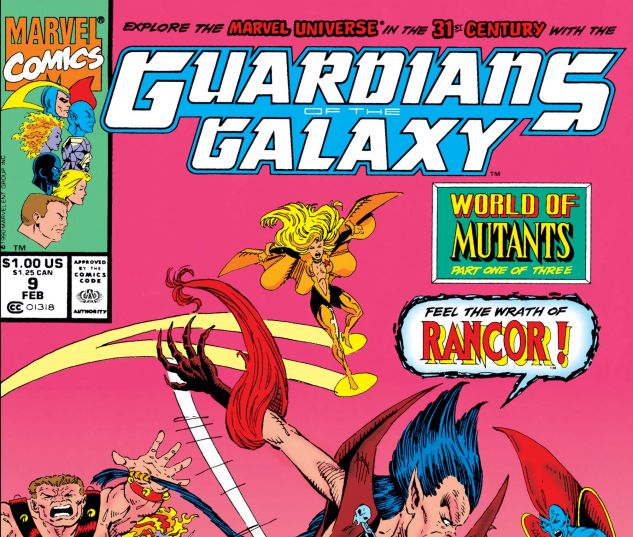 Guardians of the Galaxy (1990) #9