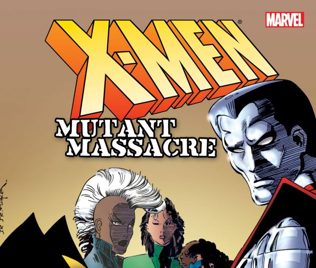 cover from X-Men: Mutant Massacre (New Printing) (2013)