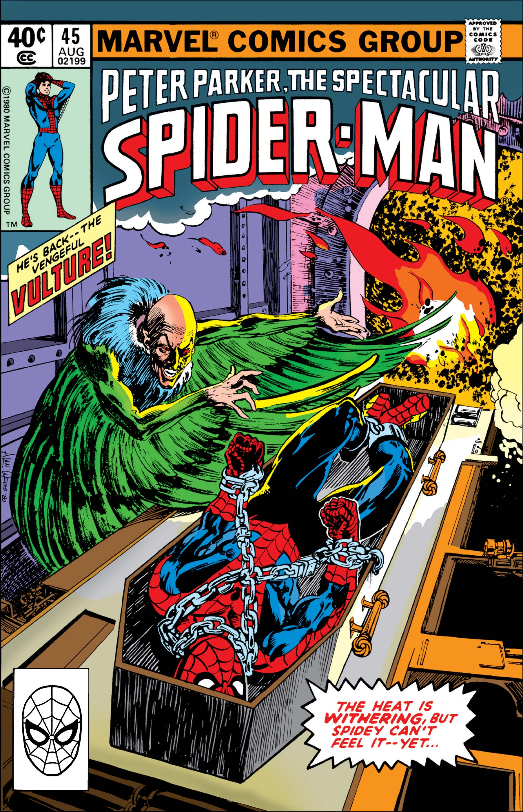 Peter Parker, the Spectacular Spider-Man (1976) #45