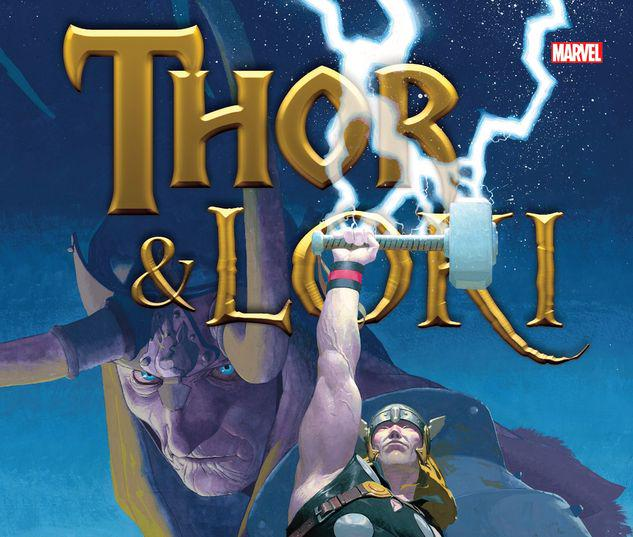 THOR & LOKI: BLOOD BROTHERS GALLERY EDITION HC #1