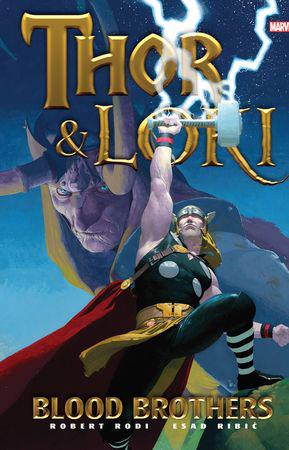 THOR & LOKI: BLOOD BROTHERS GALLERY EDITION HC (Hardcover)