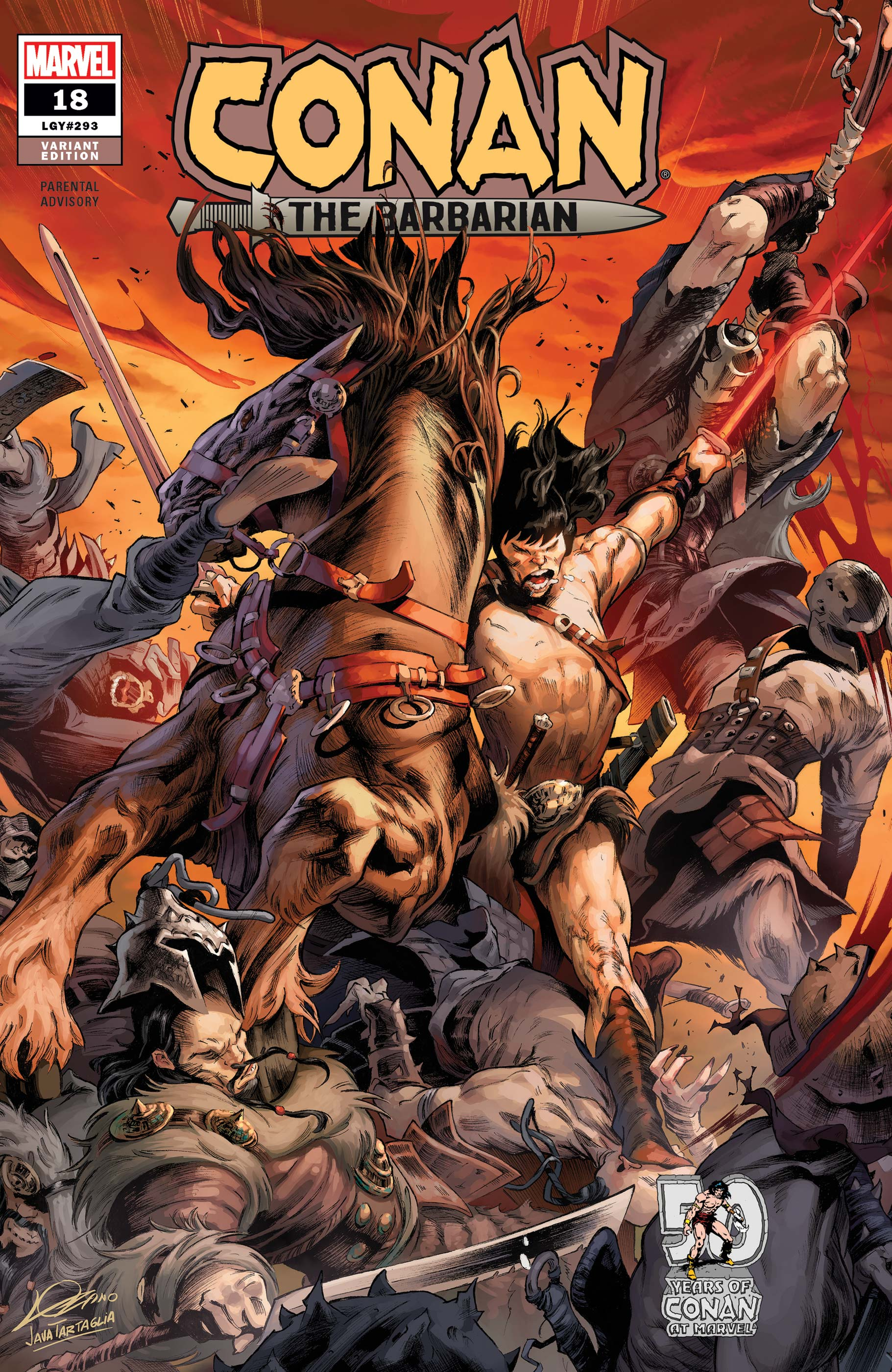 Conan the Barbarian (2019) #18 (Variant)