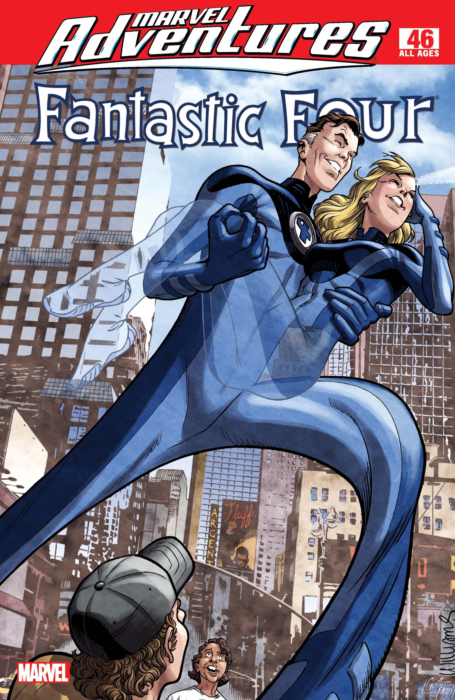 Marvel Adventures Fantastic Four (2005) #46