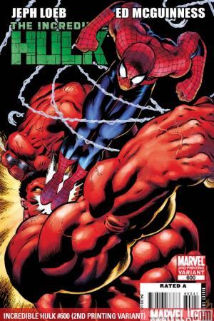 Incredible Hulks (2010) #600 (2ND PRINTING VARIANT)