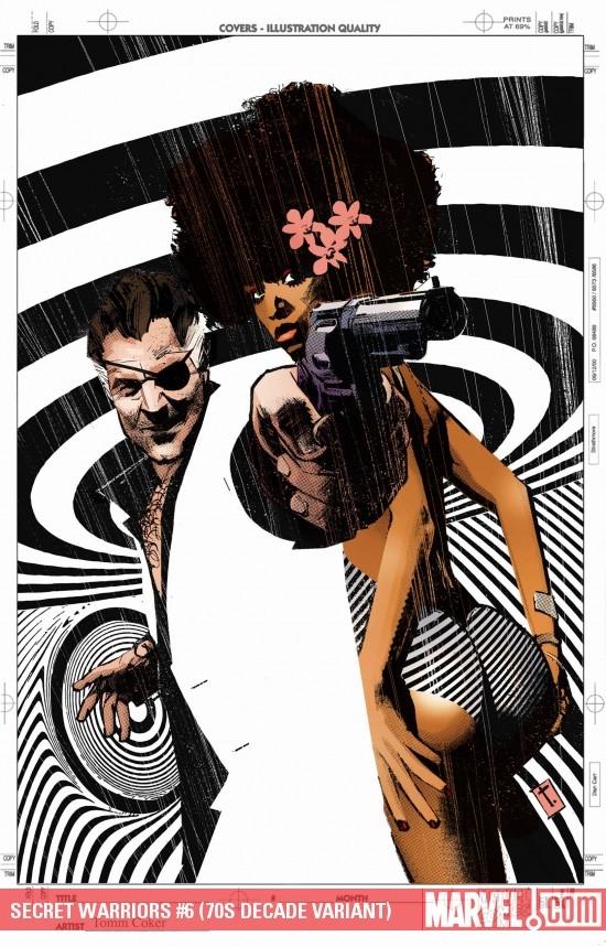 Secret Warriors (2008) #6 (70S DECADE VARIANT)