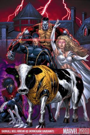 Dark Reign: Skrull Kill Krew (2009) #2 (Kirkham Variant)