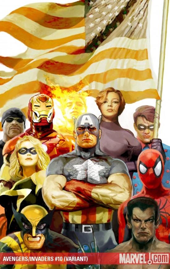 Avengers/Invaders (2008) #10 (BREITWEISER VARIANT)