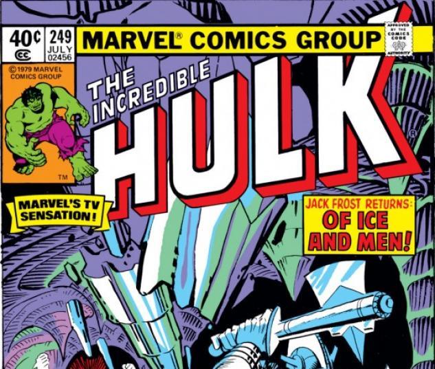 INCREDIBLE HULK #249 COVER