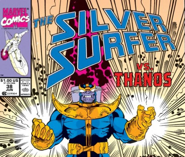 silver surfer #38
