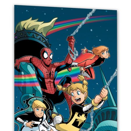 SPIDER-MAN AND POWER PACK: BIG-CITY SUPER HEROES #0