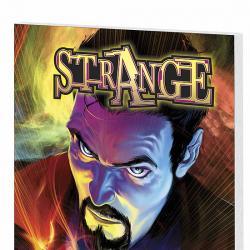 STRANGE: BEGINNINGS AND ENDINGS COVER