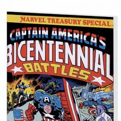 CAPTAIN AMERICA BY JACK KIRBY: BICENTENNIAL BATTLES COVER