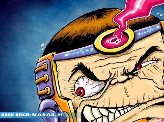 Dark Reign: M.O.D.O.K. (2009) #1 Wallpaper