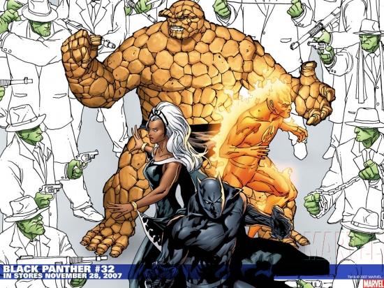 Black Panther (1998) #32 Wallpaper