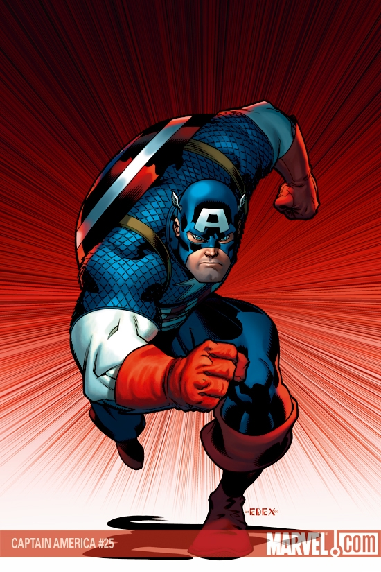 Captain America (2004) #25 (McGuinness variant)