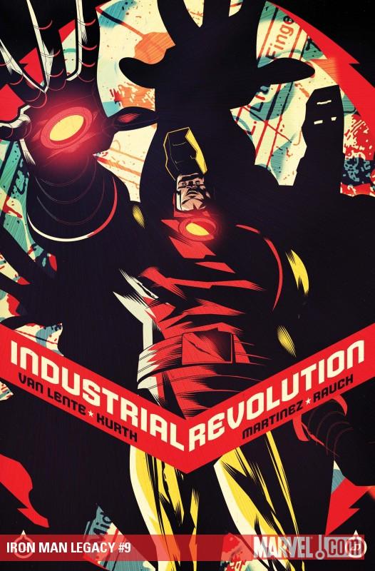 Iron Man Legacy (2010) #9