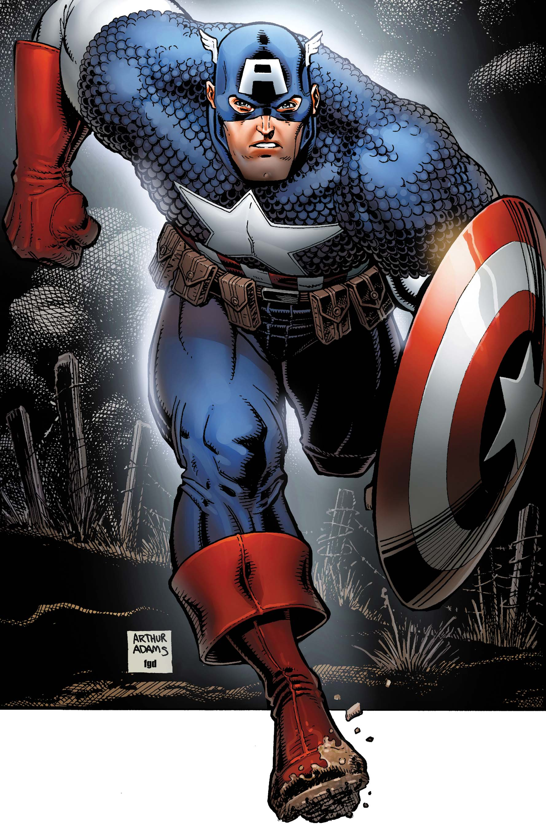 Captain America Poster Book (2011) #1