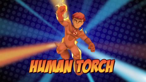 Super Hero Squad Online: Human Torch Vignette