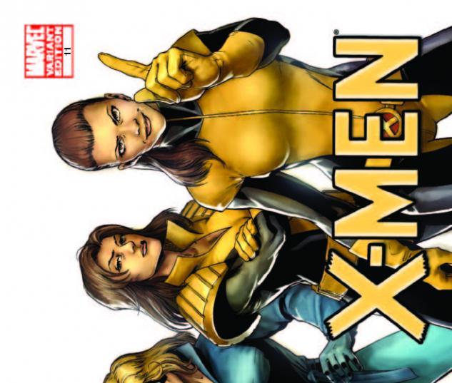X-Men #11 (X-Men Evolutions Variant) cover