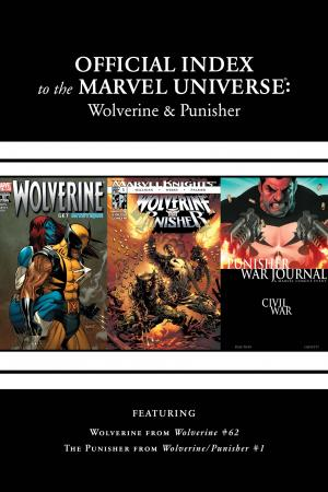 Wolverine, Punisher & Ghost Rider: Official Index to the Marvel Universe #7