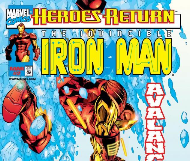 Iron Man (1998) #2 Cover