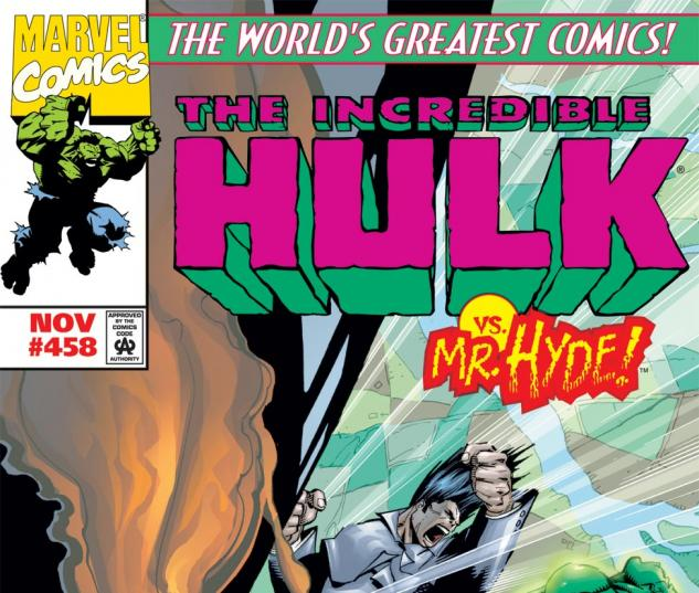 Incredible Hulk (1962) #458 Cover