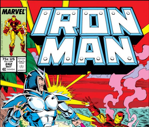 Iron Man (1968) #242 Cover