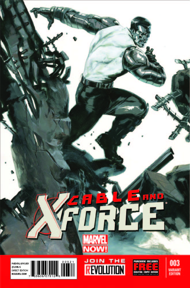 Cable and X-Force (2012) #3 (Dell'otto Variant)