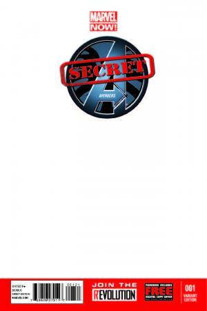 Secret Avengers (2013) #1 (Blank Cover Variant)