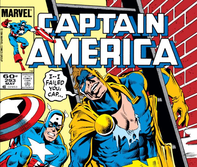 Captain America (1968) #293 Cover
