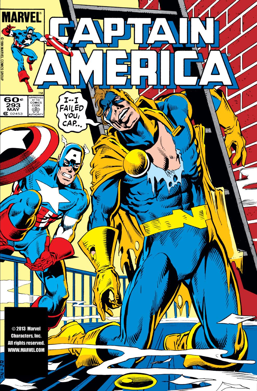 Captain America (1968) #293