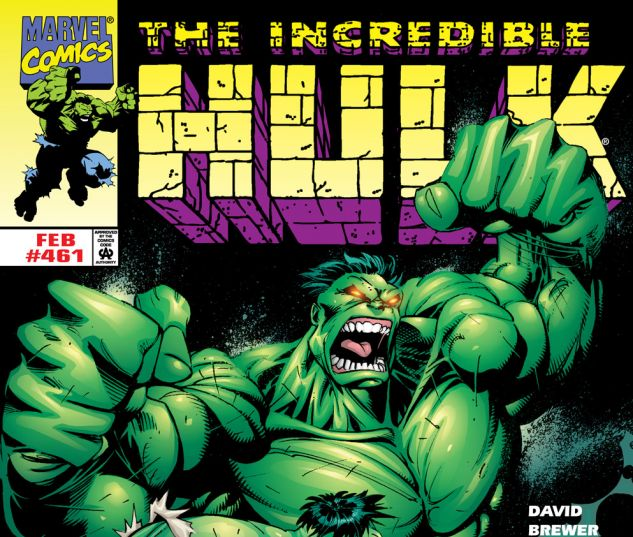 Incredible Hulk (1962) #461 Cover