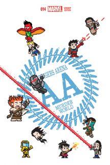 Avengers Arena (2012) #14 (Waite 8-Bit Variant)