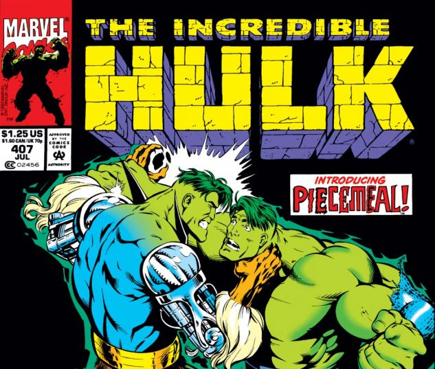 Incredible Hulk (1962) #407 Cover
