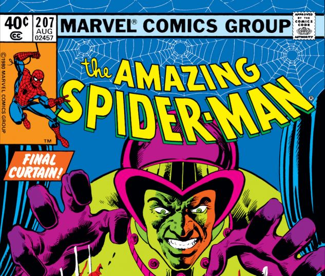 Amazing Spider-Man (1963) #207 Cover