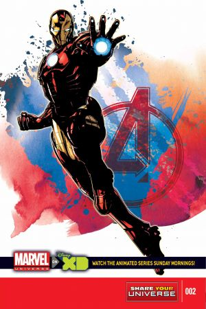 Marvel Universe Avengers Assemble Season Two #2